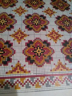 Cross Stitch Embroidery, Embroidery Patterns, Cross Stitch Patterns, Machine Embroidery, Rug Patterns, Latch Hook Rugs, Bead Crochet Rope, Loom Beading, Rug Hooking