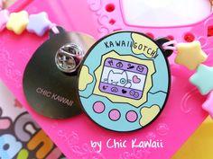 Enamel pin kawaii Tamagotchi pins badge lovely cat stars