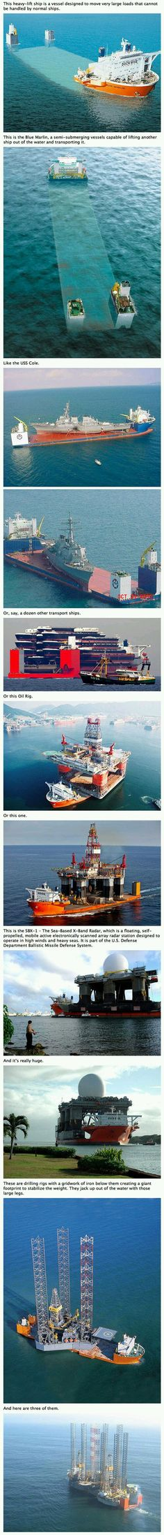 How Heavy Lift Transport Ships Work