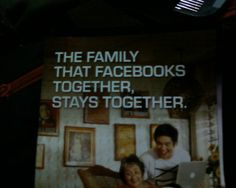 THE FAMILY THAT FACEBOOKS TOGETHER, STAY TOGETHER. LOL =D  #Facebook #Family #LOL #Iloilo #Philippines Facebook Family, Iloilo City, Philippines, Broadway Shows, Lol, Fun