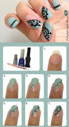 Easy nail design tutorial