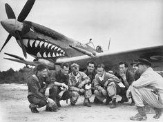 Australian pilots, Borneo, Oct 1945