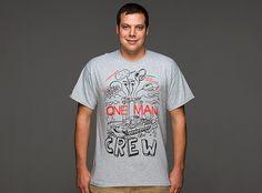 World of Tanks One Man Crew T-Shirt