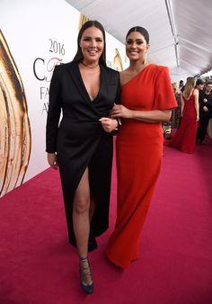 Pin for Later: Cette Année, les CFDA Awards Étaient Plus Glamour Que Jamais Candice Huffine et Rachel Roy