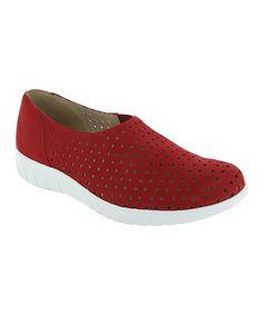 Red Skipper Leather Loafer