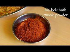 bisi bele bath masala powder | karnataka style bisibelebath powder with step by step photo recipe. bisi bele bath is prepared with special aromatic spice Masala Powder Recipe, Masala Recipe, Podi Recipe, Dry Coconut, Food Tech, Rissoto, Bath Recipes, Indian Food Recipes, Ethnic Recipes