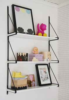 little birdie -ikea shelves