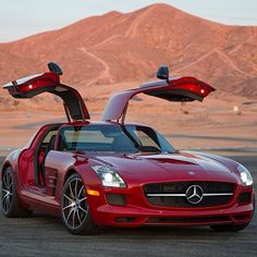 Gorgeous devil red SLS ready for take off!
