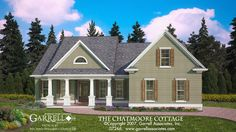 The Chatmoore Cottage House Plan 07266. 1-877-215-1455. Design by Michael William Garrell. http://garrellassociates.com/floorplans/chatmoore-cottage-house-plan
