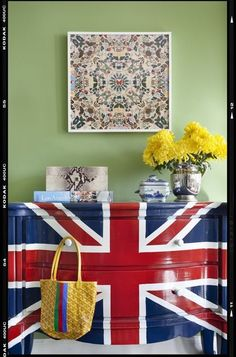 Eclectic Kids Union Jack Dresser...Loving this!