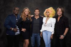 Randy, Mariah, Ryan, Nicki & @Keith Savoie Urban