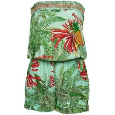 Sleeveless floral jumpsuit for summer by Desigual @spartoouk