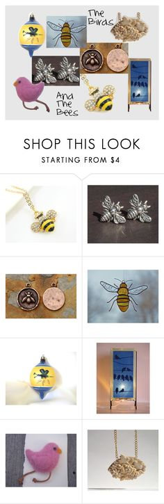 """The Birds and the Bees"" by midnightcoiler on Polyvore featuring interior, interiors, interior design, home, home decor and interior decorating"