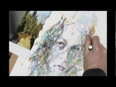 Timelapse / Speed drawing 'From the Forest' by Carne Griffiths -    http://www.carnegriffiths.com/