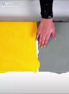 Canvas Painting Tutorials, Diy Canvas Art, Diy Wall Art, Acrylic Pouring Art, Acrylic Art, Art Techniques, Paintings, Crafty, Drawing