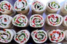 Christmas Tortilla Rollups - Pioneer Woman