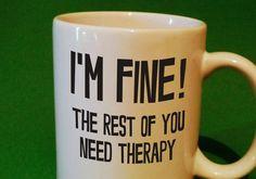 Funny Coffee Mug - Funny Gift Idea - Funny Mug Gift Idea - Coffee Lover's Mug - Office Gift - Secretary Gift - Boss Gift - Birthday Gift  #Christmas #Christmas2015 #Xmas #Xmas2015 #XmasShopping