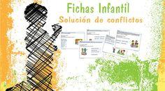 Colección de fichas de infantil de habilidades sociales para la resolución de conflictos. Fichas de habilidades sociales de descarga gratuita
