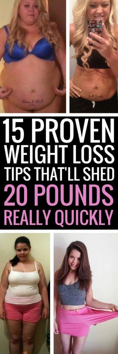 15 guaranteed ways to shed any unwanted body fat quickly.