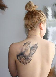 46 Impressive and Peaceful Dove Tattoo Designs