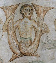 Double-tailed fish-siren - Une sirène-poisson à double queue = sirène bifide by petrus.agricola, via Flickr