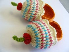 Cupcake slippers... Too cute. And lots of other cute slippers