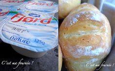 Petits pains au Fjord à mémoire de forme...