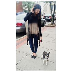 ombre long sleeve top with cut outs   fall street style & fashion