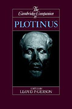 The Cambridge Companion to Plotinus (Cambridge Companions to Philosophy)