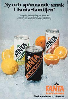 Fanta Black Orange