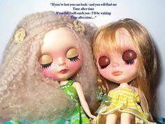 Blythe-a-Day July 2014#31: Favorite Lyrics: Ava and Jordan   Flickr - Photo Sharing!