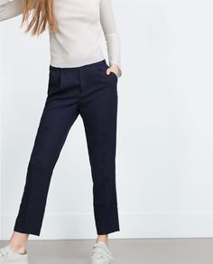 Pantalones Mujer   Anchos, pitillo, culottes   ZARA España