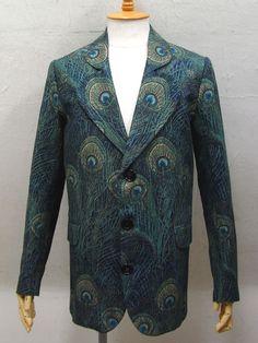 GRANNY TAKES A TRIP peacock jacket