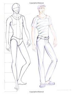 Fashion Design Sketch Model Male 2015-2016 | Fashion Trends 2015-2016