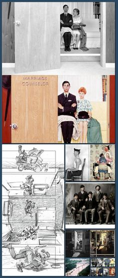 The Photos That Inspired Norman Rockwell's Paintings     «TwistedSifter [Collage made with one click using http://pagecollage.com] #pagecollage