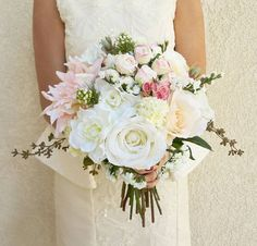 Check out this item in my Etsy shop https://www.etsy.com/listing/248779698/wedding-bouquet-bridal-bouquet-silk