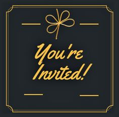"""Postman handed you over an elegantly embossed black and gold invitation which says, """"Please come in your best Cocktail Party look. Black And Gold Invitations, Fun Cocktails, Party Looks, Youre Invited, Beauty, Fashion, Moda, Fashion Styles, Beauty Illustration"""