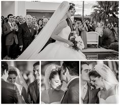 Entrada da noiva - Casamento Luiza e Sulivam