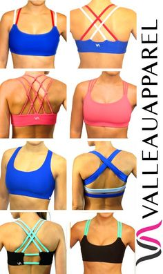 Cute sports bras to help you get motivated to workout! :)