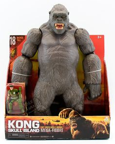 Lanard Toys Producing Kong: Skull Island Toys