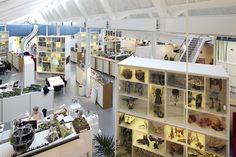 LEGO Offices in Denmark. Gotta love the slide in the background.