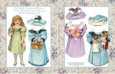 Boraxine, JD Larkin Co. Advertising Paper Doll