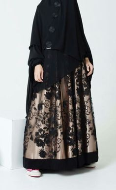 One's of the most beatiful muslimah wear.