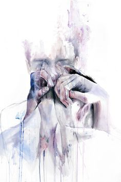 'Gestures' by Agnes Cecile -  Prints Now Available at EyesOnWalls: http://www.eyesonwalls.com/search?type=product=Gestures #agnescecile #art #painting