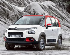 """Check out new work on my @Behance portfolio: """"Citroën C3 AirCross"""" http://be.net/gallery/46562443/Citroen-C3-AirCross"""