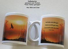 Kaffeebecher Zitat – Cover/Buch - Kreawusel-handmade