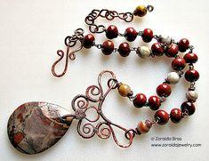 necklaces wirework - Szukaj w Google