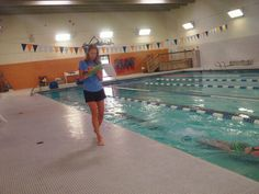 Dai Roberts Group first Coached Swim Stroke clinic
