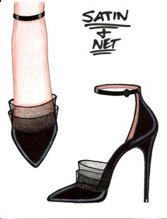 Steve goss fall 2012 luxury women s shoe collection by steve goss at coroflot com for the woman with a love of irrelevant detail Fashion Design Sketchbook, Fashion Design Drawings, Fashion Sketches, Fashion Illustration Shoes, Illustration Mode, Illustrations, Silhouette Mode, Shoes Valentino, Shoe Sketches