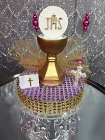 A First Holy Communion Girl Cake Topper Centerpiece Keepsake Gift >>> Insider's special review that you can't miss. Read more :  : baking decorations
